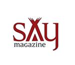 Media Partner - Say Magazine