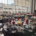 The tables are set for the Gala
